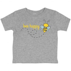 Bee Happy Kids Shirt
