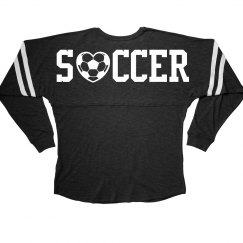 Cute and Trendy Soccer Player Jersey