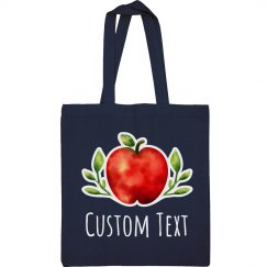Custom Text Watercolor Teacher Gift