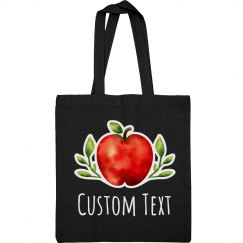 Custom Text Watercolor Teacher Gift