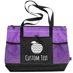 Custom Text Cute Apple Teacher Gift