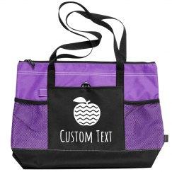 Custom Text Cute Apple Teacher Gift