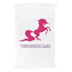 Unicorn gym towel
