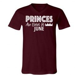 Princes Are Born In June.