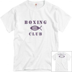 Boxing Exodus 14:14 shirt