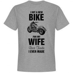 I got a new bike for my wife