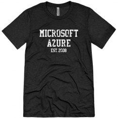 Microsoft Azure Est. 2008 Tee Vintage Black