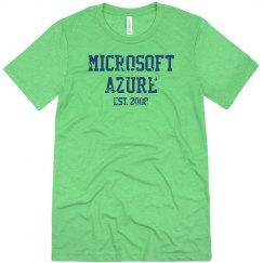 Microsoft Azure Est. 2008 Tee Heather White
