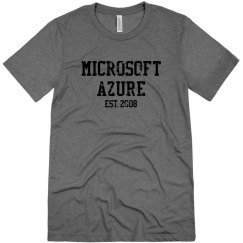Microsoft Azure Est. 2008 Tee Premium Heather