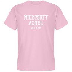 Microsoft Azure Est. 2008 Tee Pink