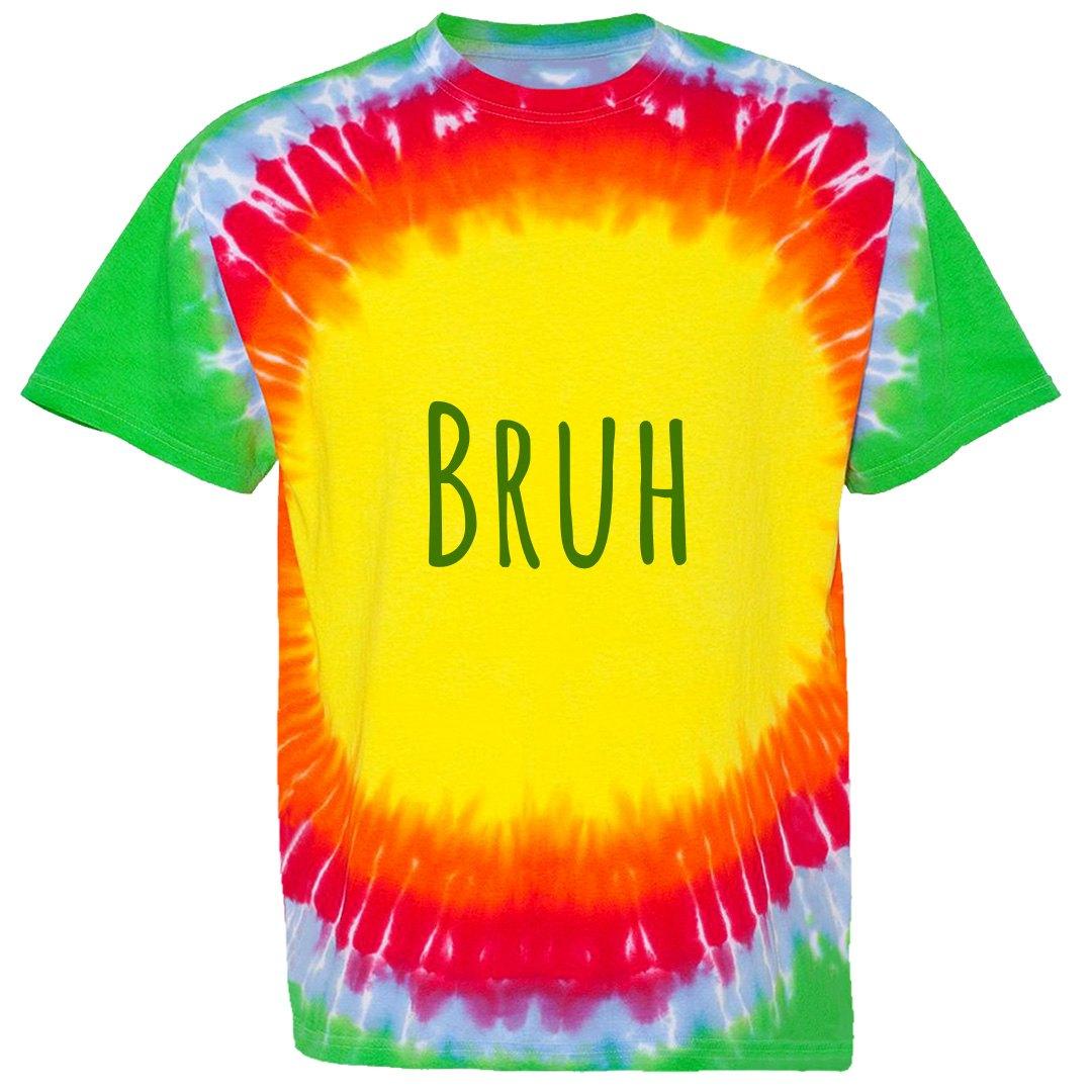 BRUH Unisex Bullseye Tie-Dye T-Shirt