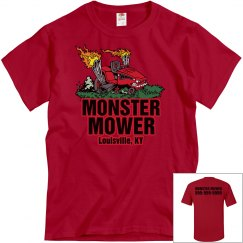 Monster Mower W/ Back