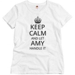 Let amy handle it