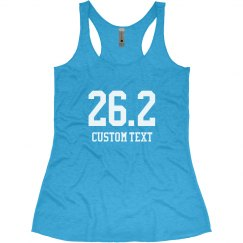 Customizable Marathon Racerback