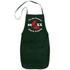 Holiday Family Apron