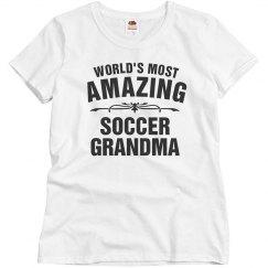 Amazing soccer Grandma