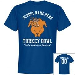 School Colors Turkey Bowl