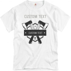 Custom Axe Throwing Tees