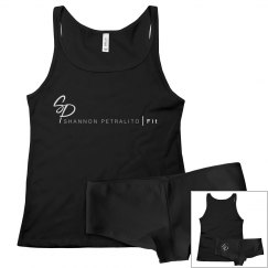 SPFIT PJ Set Black / White Logo