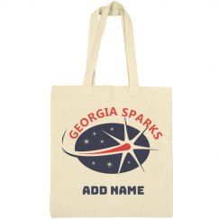 Georgia Sparks Canvas Tote