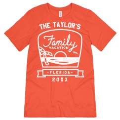 Custom Beach Family Vacation Tees
