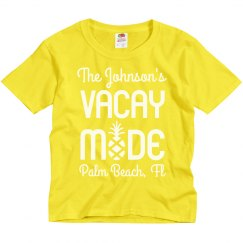 Vacation Mode Family Beach Shirts