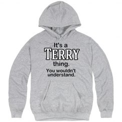 Its a Terry thing