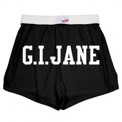 G.I. Jane Derby Shorts