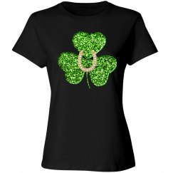 Shamrock And Horseshoe Shirt