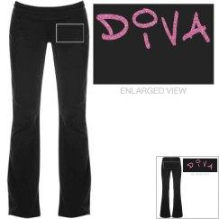 Diva Glitter Pants