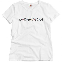 Monica Rachel Best Friend Tees