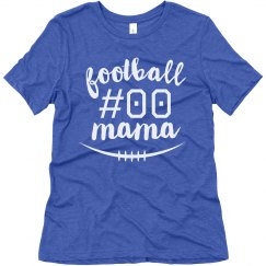 Custom Number Fooball Mom Fan Gear