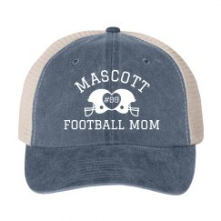 Custom Mascott Footnball Mom