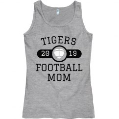 Custom Football Team Mom