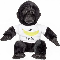 God Love's You Stuffed Gorilla