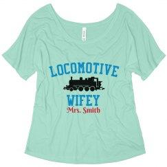 Locomotive Wifey Tee