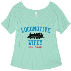 Locomotive Wifey Tee