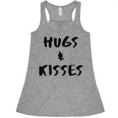 Hugs And Kisses Crop Top Tank