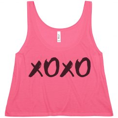 Kiss And Hug Crop Tank