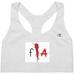 F/A Logo Sports Bra