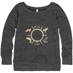 Slouchy Foxy Mariner's sweater