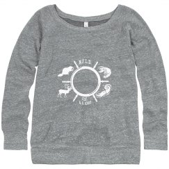 Slouchy Newfoudland Animals sweater