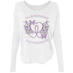 Alzheimers Awareness White Tee