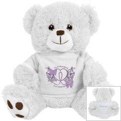 Alzheimers Awareness Teddy Bear