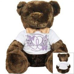 Alzheimers Awareness Bear