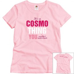 Cosmo Thing Pink