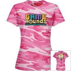 Game Hounds Pink Camo Tee