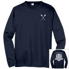 Custom Lacrosse Team Long Sleeve Tees