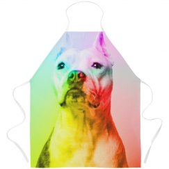 Rainbow Pitbull All Over Print