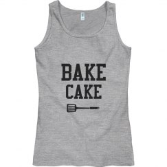 Ladies Pink Bake Cake Top